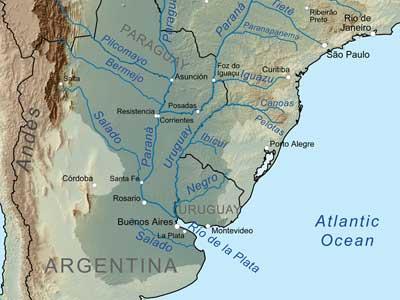 Самая широкая река в мире фото1