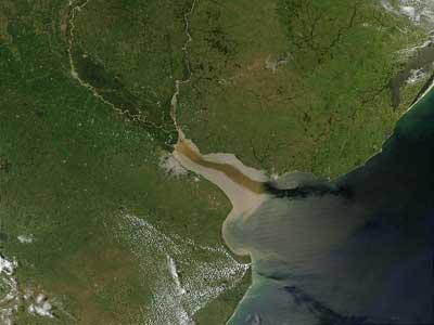 Самая широкая река в мире фото2