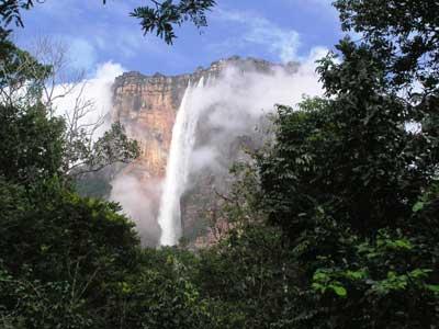 Удивительный водопад Анхель (Angel Falls)