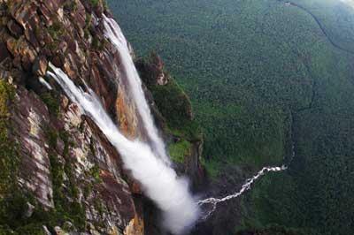 Самый высокий водопад на Земле фото 2