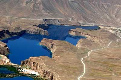 озеро Банде-Амир - цветное озеро