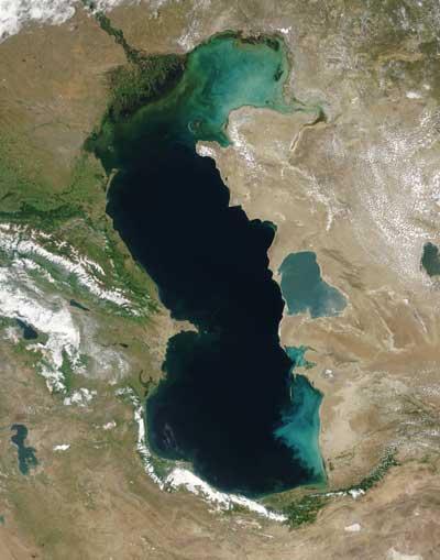 Самое большое озеро на Земле вид 1