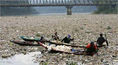 Самая грязная река в мире фото 2