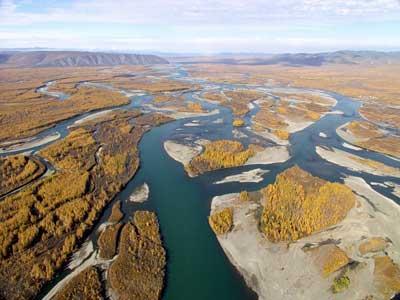 Самая холодная река - Индигирка фото1