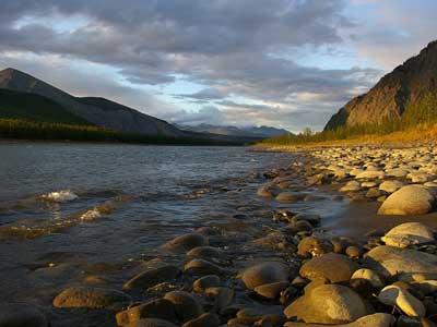 Самая холодная река - Индигирка фото2