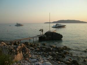 Яхты у побережья Адриатики