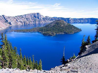 Вид на озеро Крейтер