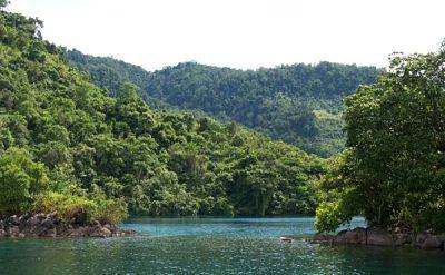 Вид на озеро Матано