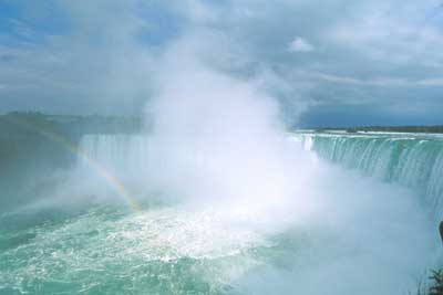 Удивительный водопад Ниагара (Niagara Falls)