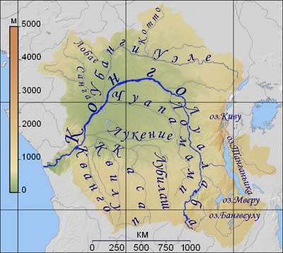 Cамая глубокая река в мире Конго фото1