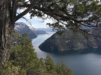 Вид на озеро Сан-Мартин