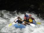 Рафтинг - водный туризм на рафтах