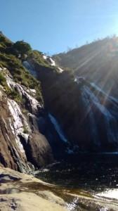 Водопады Эсаро в Галисии, Испания